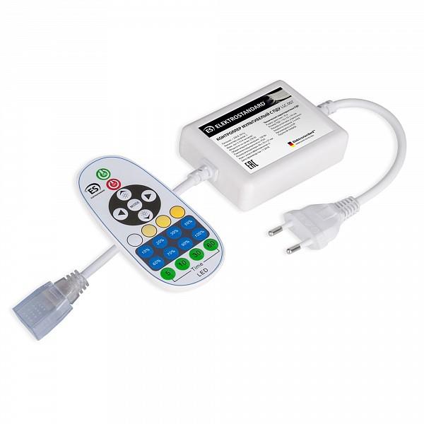 Контроллер-регулятор цвета RGB LSC 007 Контроллер для ленты Premium мультибелый 220V 500W IP20 с радио пультом (LSC 007)