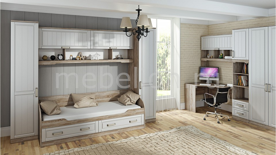 Комод детский ТРИЯ TRI_Provence_system_childrens_room_4 от Mebelion.ru