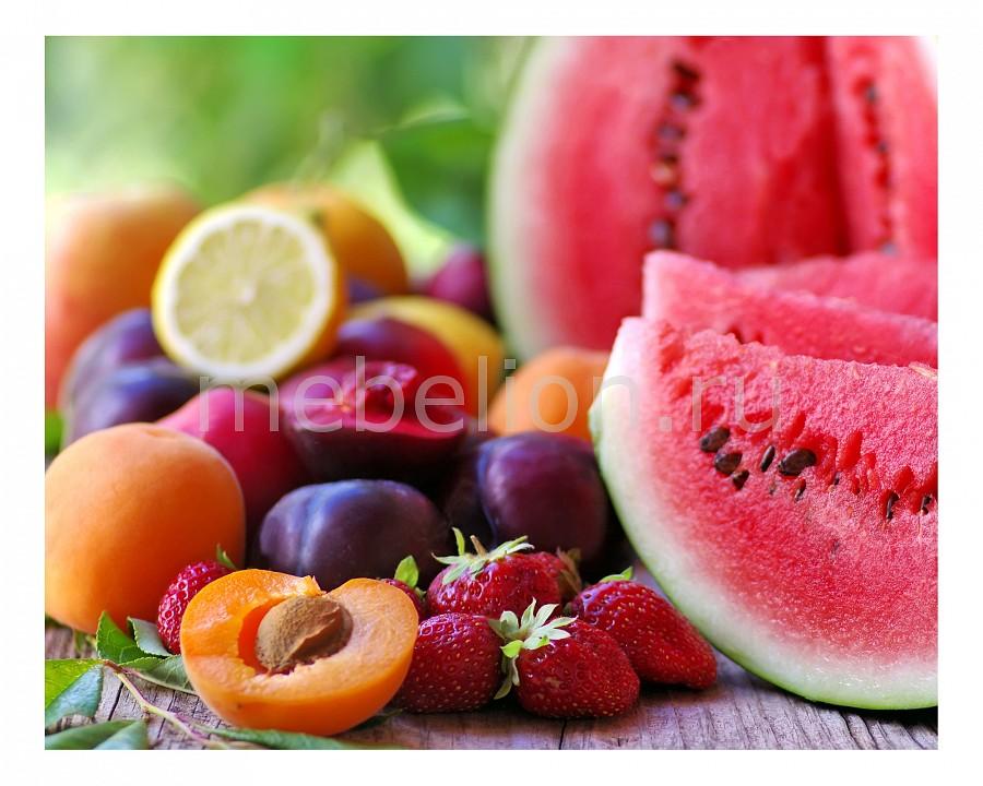 Панно Ekoramka (50х40 см) Арбуз и фрукты 1744009К5040 панно ekoramka 50х40 см ландыши 1727008к5040