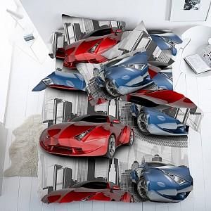 Комплект постельного белья Скоростные гонки