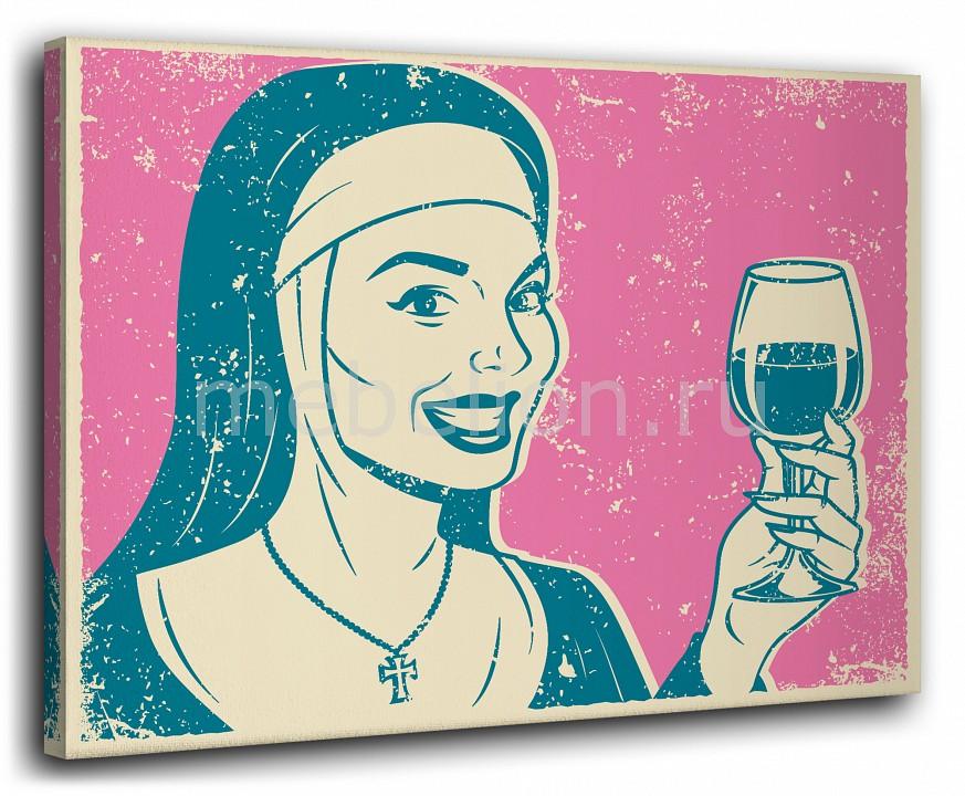 Панно Ekoramka (40х50 см) Бокал вина 1137090 панно ekoramka 40х50 см париж 11810044