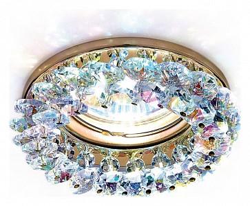 Светильник потолочный Crystal K206 AMBR_K206_MULTI_G