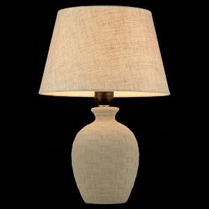 Настольная лампа с абажуром Armel MY_Z003-TL-01-W