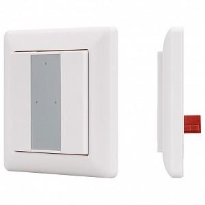 Панель-диммера клавишная накладная Knob SR-KN9551K2-UP White (KNX, DIM)