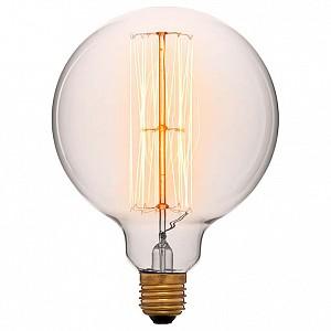 Лампа накаливания G125 E27 240В 60Вт 2200K 052-313a