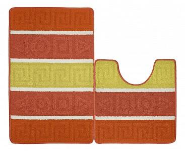 Набор из 2 ковриков для ванной Kamalak 1050