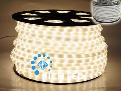 Шнур световой RL-DL-2WHM-100-240-WW