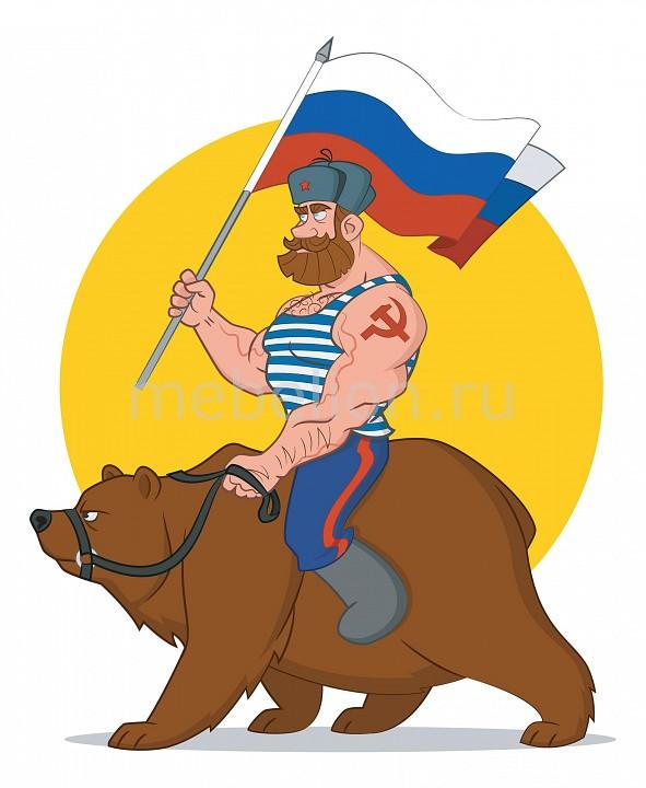 Панно Ekoramka (40х40 см) Медведь 1706004К4040 гиря iron head медведь 32 0 кг