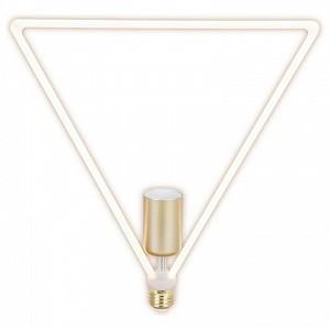 Лампа светодиодная Deco Triangle E27 220В 12Вт 2700K TH-B2400