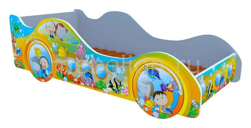 Купить Кровать-Машина Субмарина Рыбки M037