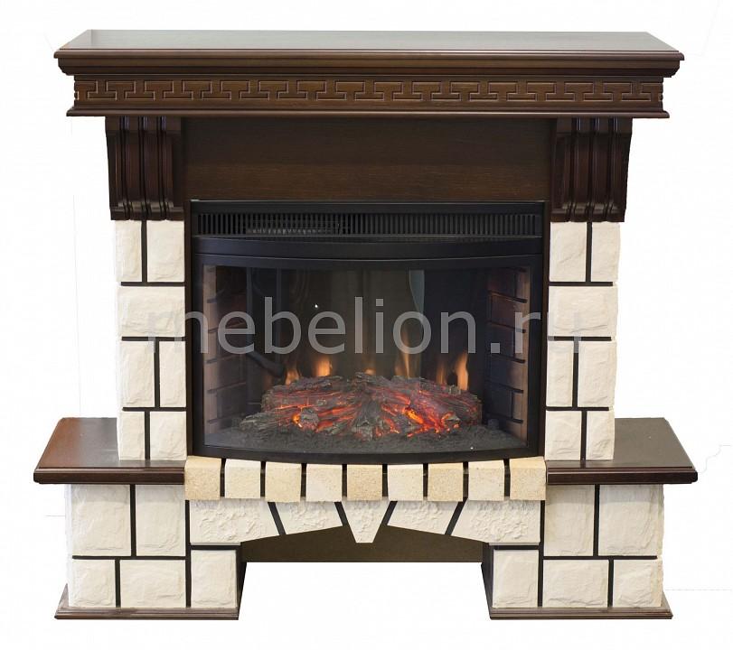 Электрокамин напольный Real Flame (120х44х107 см) Stone New 00010009989 электрокамин real flame majestic br s