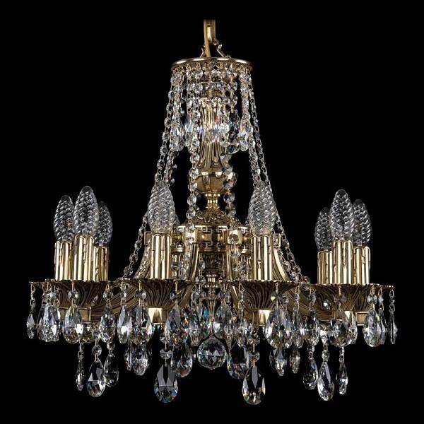 Подвесная люстра 1771/10/150/A/GB Bohemia Ivele Crystal  (BI_1771_10_150_A_GB), Чехия