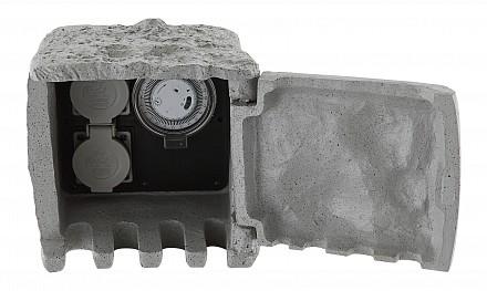 Блок розеток наземный Pietra 1 37001-2Z