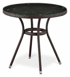 Стол обеденный T283ANT-W51-D80 Brown