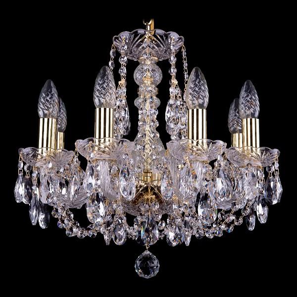 Подвесная люстра 1406/8/141/G Bohemia Ivele Crystal  (BI_1406_8_141_G), Чехия