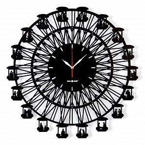 Настенные часы (62.4 см) BIG WHEEL 04006bk1