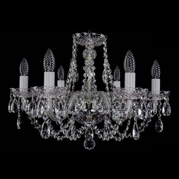 Подвесная люстра 1406/6/195/Ni Bohemia Ivele Crystal  (BI_1406_6_195_Ni), Чехия