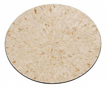 Блюдо декоративное (55х6 см) Золотой песок VP-23