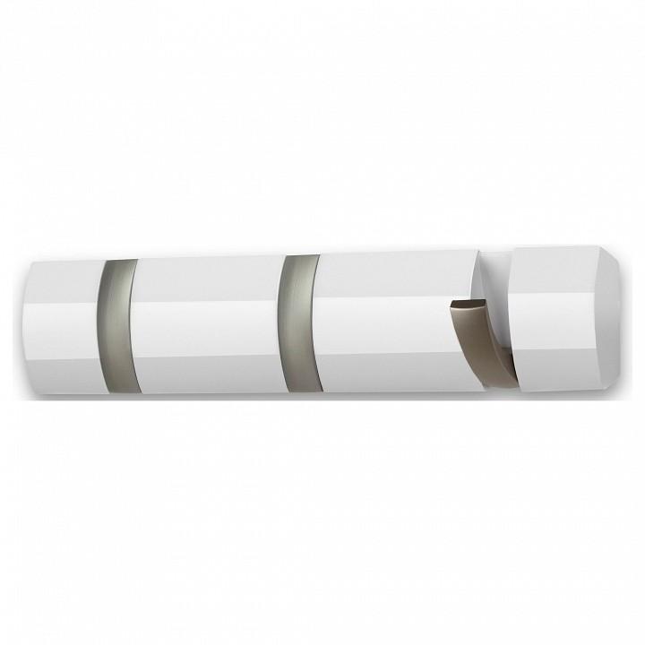Купить Вешалка настенная (33х7 см) Flip 3 318853-660, Umbra, белый, дерево, металл