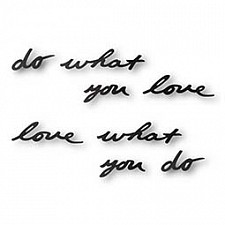 Панно (31.7х7.5 см) Do what you love 470170-040