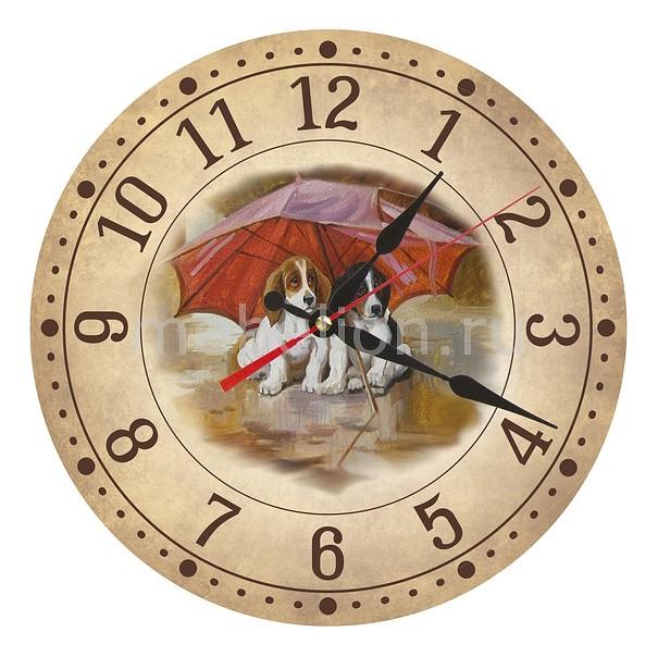 Настенные часы Акита (30 см) Щенки AC28 цена и фото