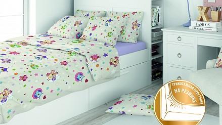 Постельное белье Eco Cotton Combo Gufo