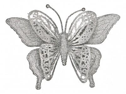 Украшение декоративное (17 см) Бабочка 241-2452