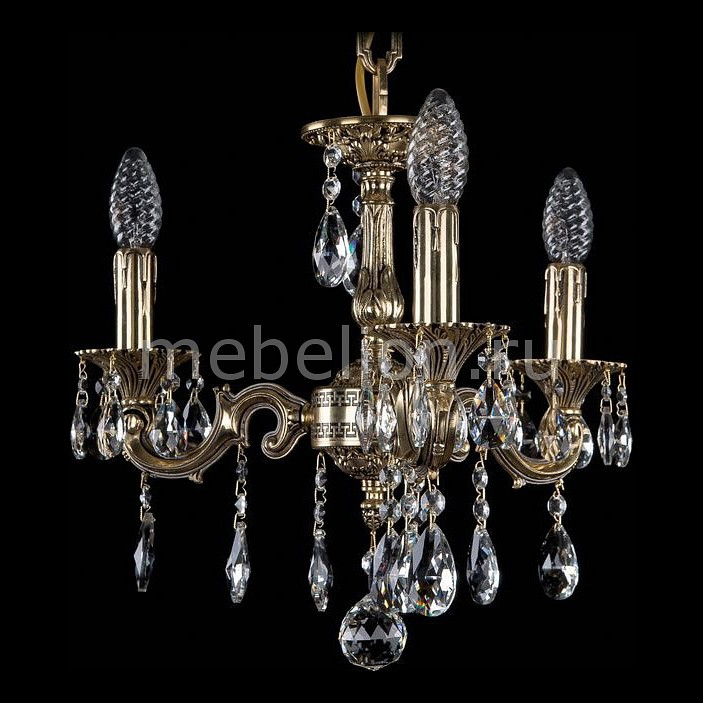 Купить Подвесная люстра 1702/3/CK125IV/A/GB, Bohemia Ivele Crystal