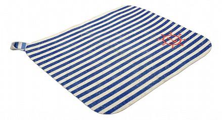 Коврик для бани (40x35 см) Морской