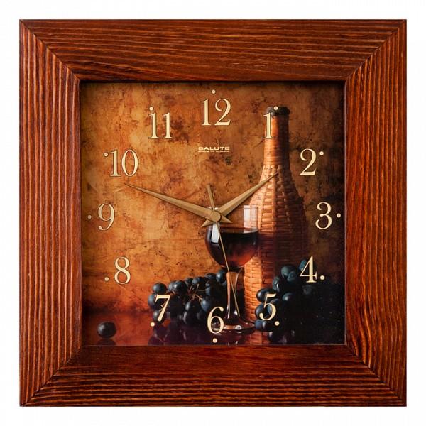 Настенные часы (35х35 см) Салют фото