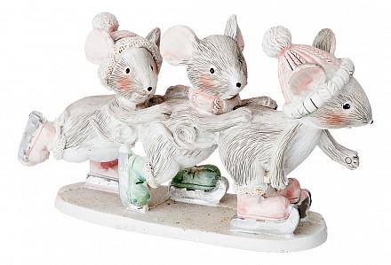 Статуэтка (12.5x4x7.5 см) Мышки 162-659