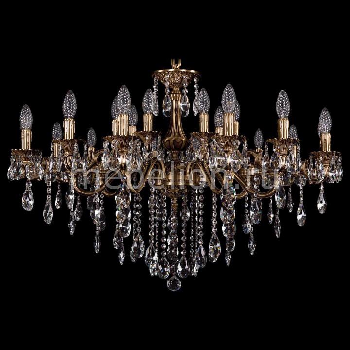 Купить Подвесная люстра 1703/21/225+125/B/FP, Bohemia Ivele Crystal