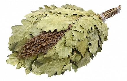 Веник для бани лиственный (50x30 см) С полынью 32010