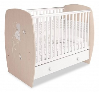 Кроватка для младенца Polini kids French 710 Amis TPL_0001583_62