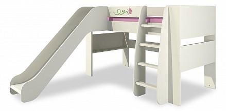 Кровать-чердак Тедди КРД120-2Д1