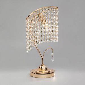 Настольная лампа декоративная Katria 3122/1 золото Strotskis настольная лампа