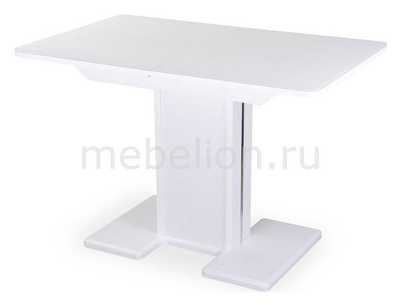 Купить Стол обеденный Танго ПР-1 БЛ ст-БЛ 05-1 БЛ/БЛ, Домотека