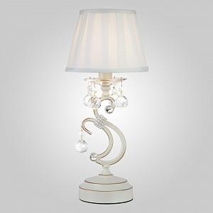 Настольная лампа декоративная Ivin 12075/1T белый Strotskis настольная лампа
