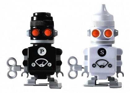 Набор из 2 солонок Bots SK SAPBOT1