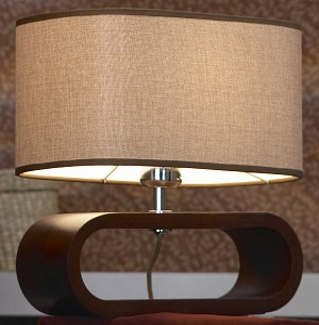 Деревянный настольный светильник Nulvi GRLSF-2104-01