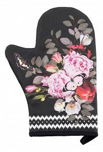 Рукавица (20x28 см) Flowers