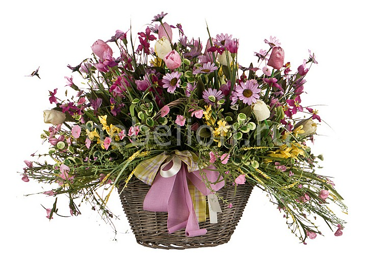 Растение в горшке АРТИ-М (60х50 см) С тюльпанами 309-527 цена 2017