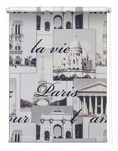 Штора рулонная (120x175 см) Париж