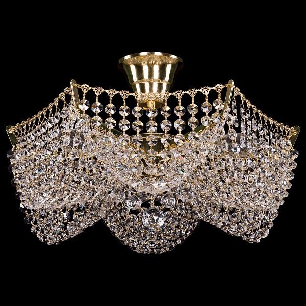 Люстра на штанге 7708/3/G Bohemia Ivele Crystal  (BI_7708_3), Чехия