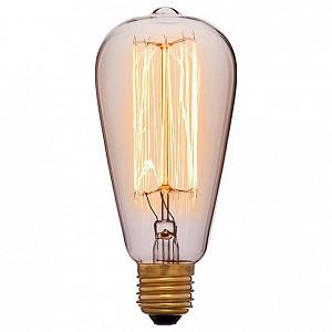Лампа накаливания ST64 E27 240В 40Вт 2200K 051-910