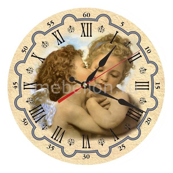Настенные часы Акита (30 см) Ангелы AC24 цена и фото