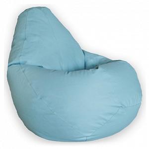 Кресло-мешок Голубая ЭкоКожа L