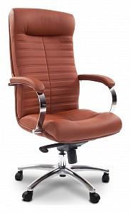 Кресло компьютерное Chairman 480 коричневый/хром, черный