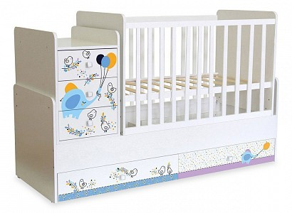 Детская кровать Polini kids Simple 1100 TPL_0001442_9_1