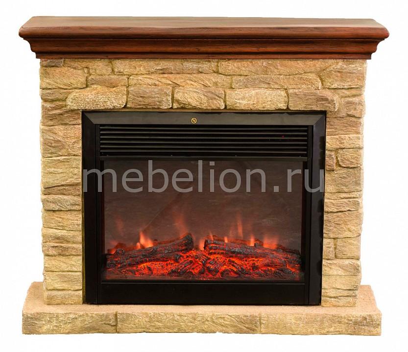 Электрокамин напольный Real Flame (113х34х97 см) Halton Castle 00000003814 baxi slim 1 620 in